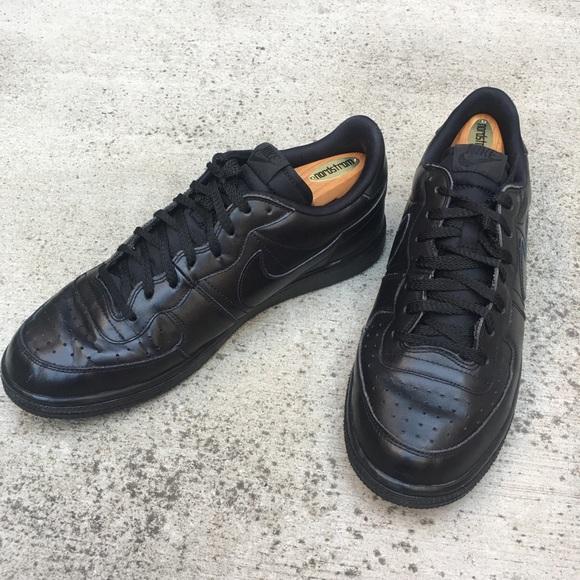 NIKE TENNIS CLASSIC BLACK LEATHER TRAINING Walking